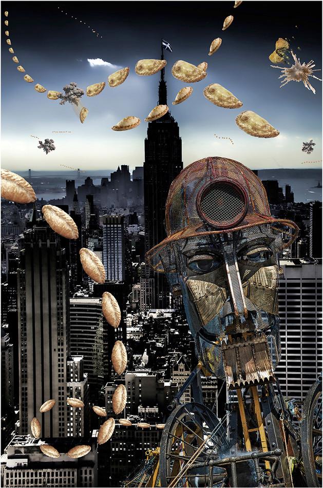 Attack of the alien Pasties,