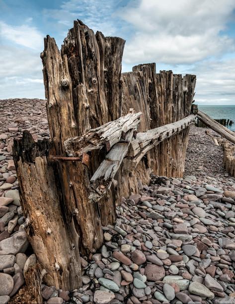 Porlock beach