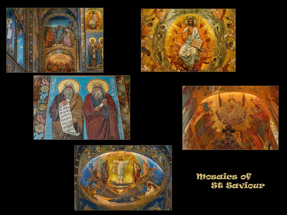Mosaics of St Saviour by Sheila Haycox