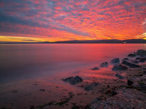 Autumn sunset by Brian Westaway