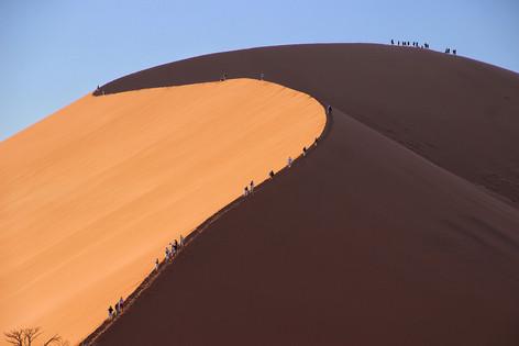 A tough climb by Nova Fisher