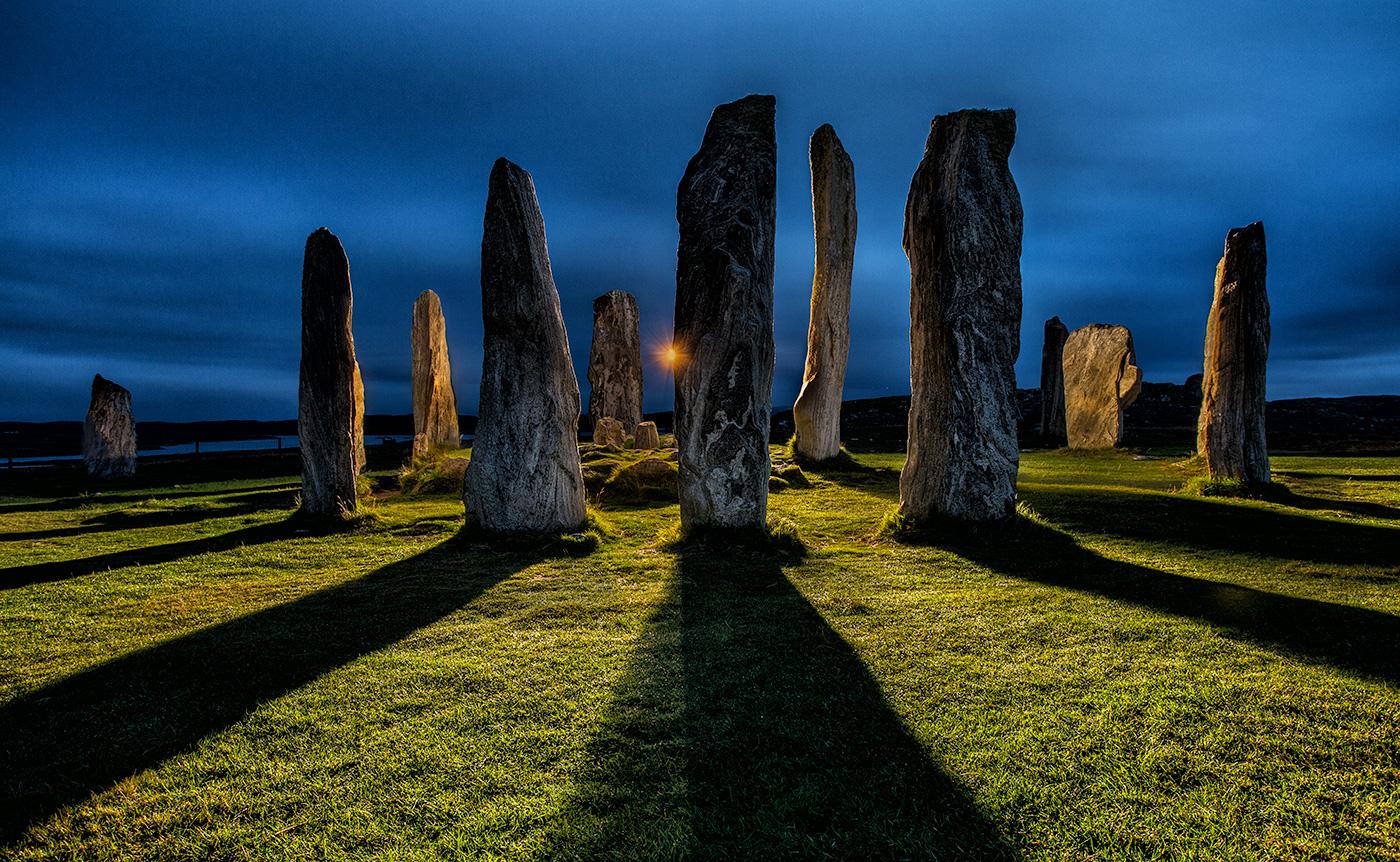3_Print_Callanaish-Stones-at-night