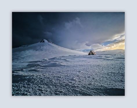 Refuge Hut by Derrick Holliday