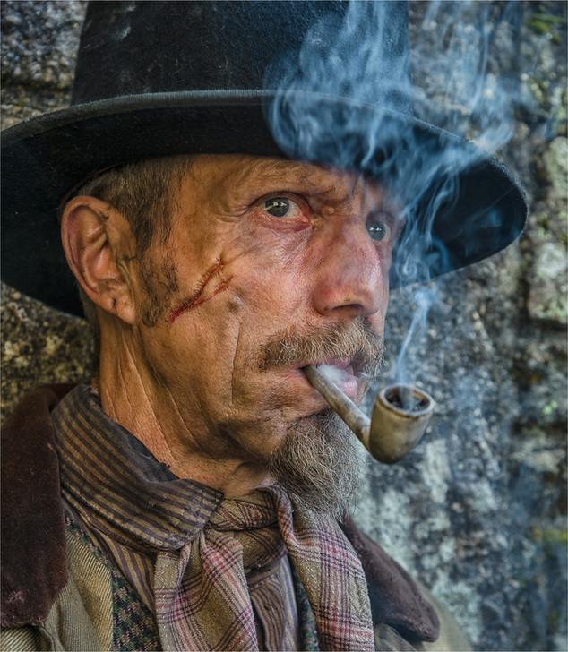Enjoying a Smoke by Mo Martin - 13 points