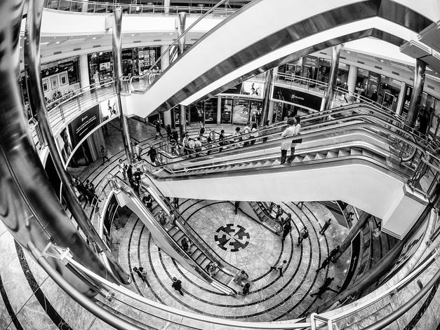 Shopping Mall at Canary Wharf