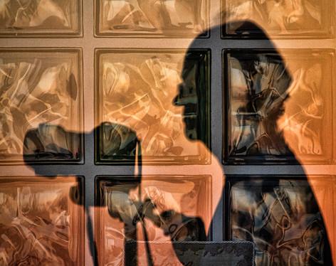 Shadow on the Wall by Carol Hyett