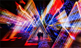 Geometric Voyagers by Ian Bateman