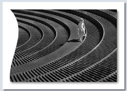 Spiral Fountain by Sheila Haycox