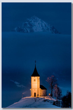 Church of St Primoz by Sheila Haycox