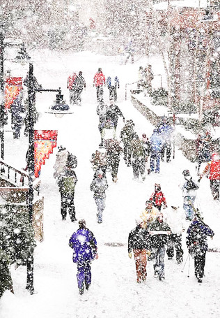 Let It Snow by Kristina Adamson - 11 points