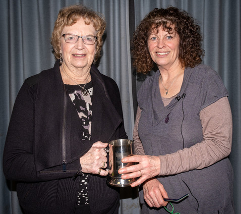Sheila Haycox and Jane Kearney