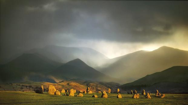 Standing Stones by Ian Bateman