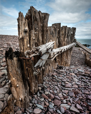 2nd_On the beach at Porlock Weir by Mike Gillan