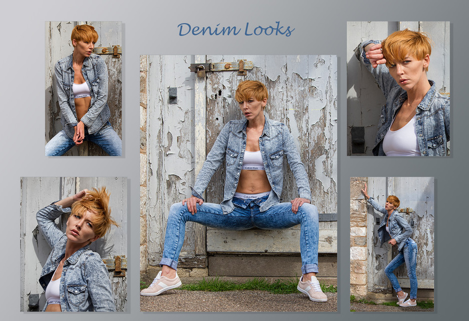 1st Digitally Projected - Denim Looks by Carol Hyett