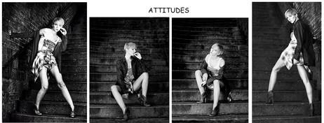 2nd Mono Print - Attitudes by Peter Hyett