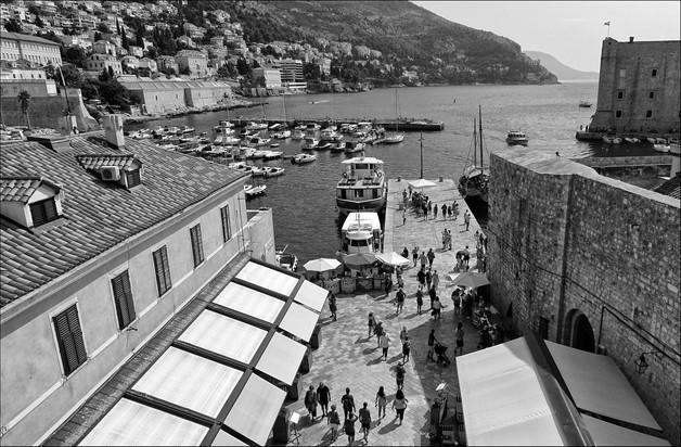 Dubrovnik Old Port by Caroline Ovens