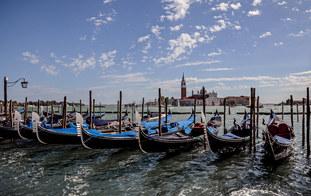 Gondolas At Rest