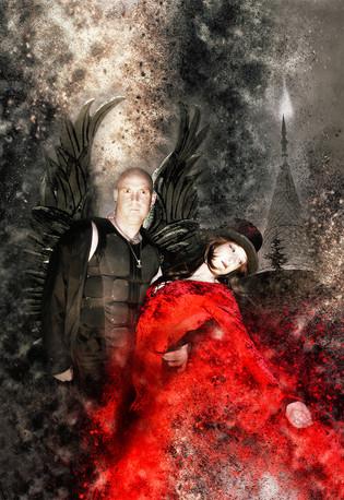 Dark Angel by Ian Bateman 11 points