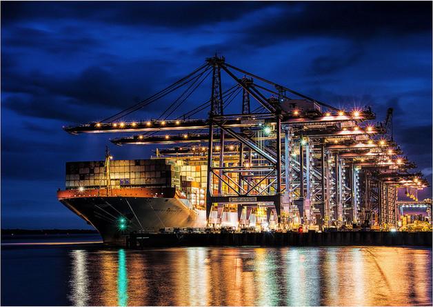 Port of Britain by John Wickett