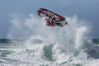 Jet Ski Turn by Sheila Haycox - 17 points