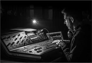 Sound Engineer by Christine Chittock