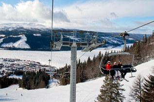 Ski Lift Are Sweden