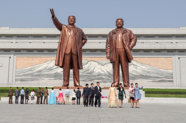 North Korea - The Fathers of the Nation.