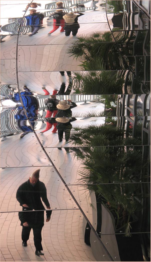 H/C Distorted Walkway by Carol Hyett