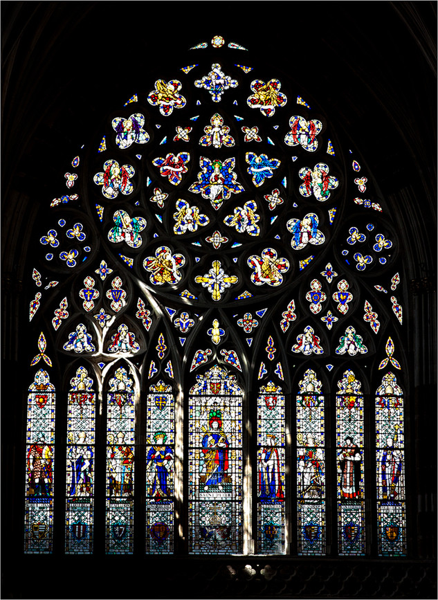 The West Window Exeter Cathedral