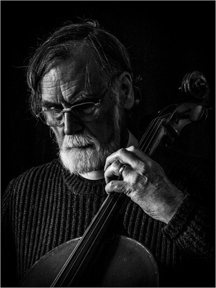 Reverend Walter with Cello