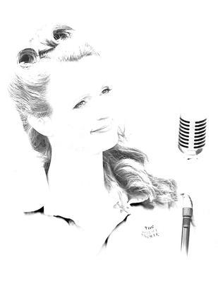 The Singer by David Davies