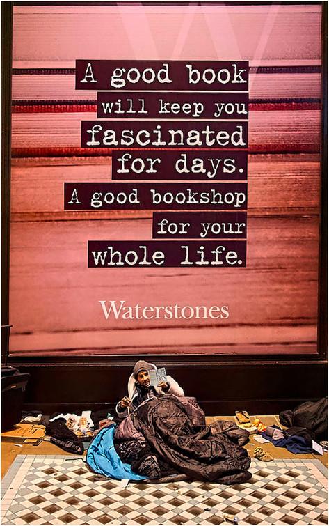 Waterstones by Kristina Adamson