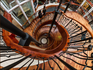 H/C Spiraling Down by Ian Bateman