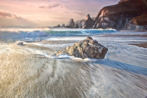 Motion, Foam and Sparkle by Dave Evans