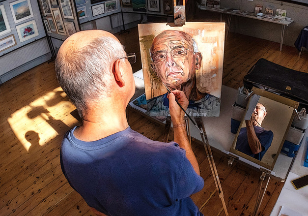 Four Facets of the Artist by