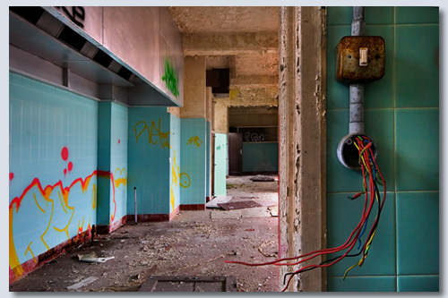 Wires & Walls by John Perriam