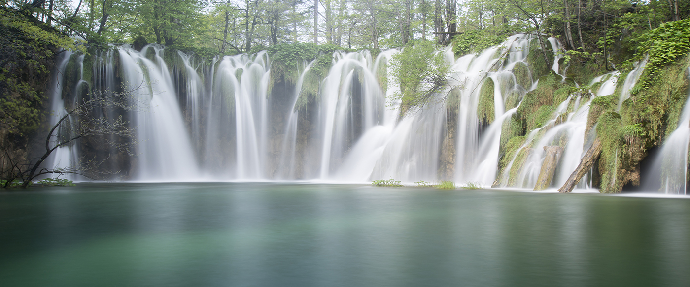PrintPlitvice Waterfall