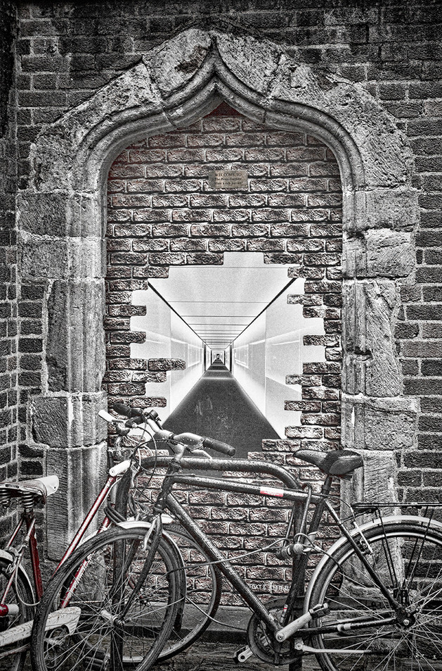 Archway to nowhere by Carol Hyett