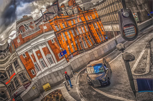 New Street Reflections by Christine Chittock 12 points