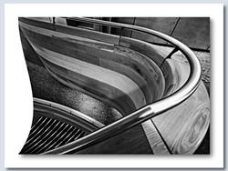 Stairwell Shadow by John Perriam