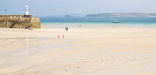 1st St Ives Beach by Carol Hyett