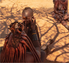 Himba mother and child