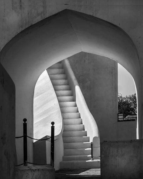 Jaipur stairway