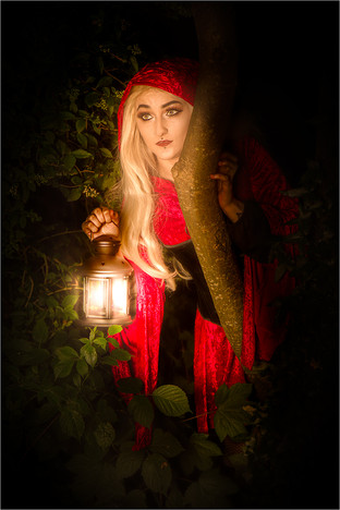 2nd Miss Red Riding Hood by Chaz Madge