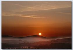 Dawn Over Woodbury Common by Bryan Webb
