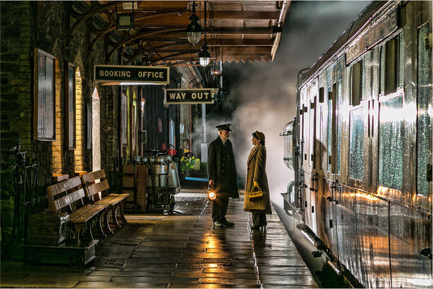 The Stationmaster by Andy Lock