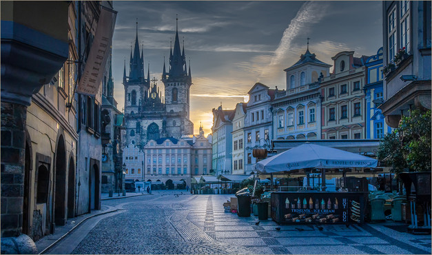 Early Morning Prague by Christine Chittock