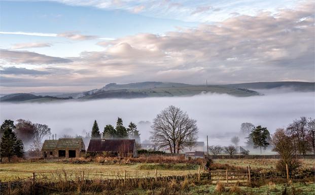 Landscape Inversion Over Froggatt by Mo Martin 2nd