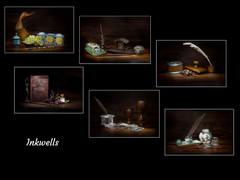 Inkwells by Sheila Haycox - 1st
