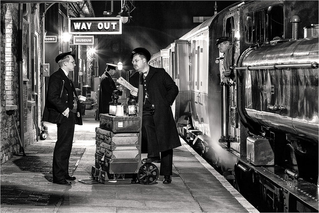 The Station Staff by Andy Lock